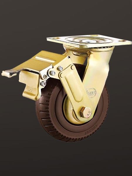 平底单刹发泡轮