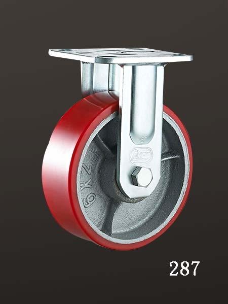 固定铁芯脚轮,固定(lron Core PU)轮
