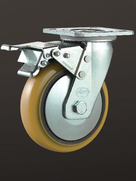 平底双刹(lron Core PU)轮