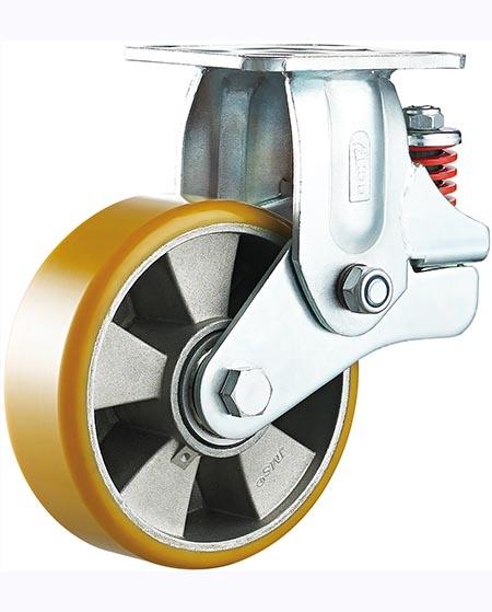 防震耐高温脚轮